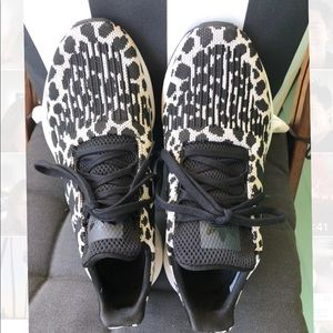 Adidas Swift Run Leopard Print Shoes